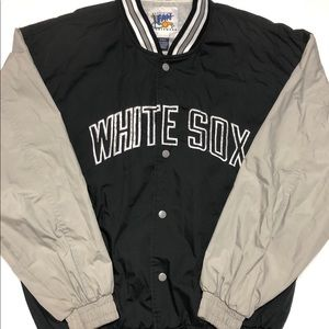 Vintage Chicago white Sox Windbreaker